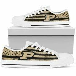NCAA Purdue Boilermakers Low Top Shoes