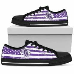 NCAA Stephen F. Austin Lumberjacks Low Top Shoes