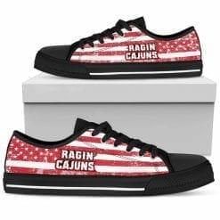 NCAA Louisiana Ragin' Cajuns Low Top Shoes
