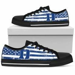 NCAA Duke Blue Devils Low Top Shoes