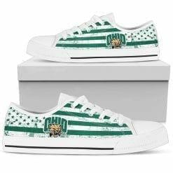 NCAA Ohio Bobcats Low Top Shoes