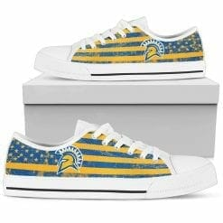 NCAA San Jose State Spartans Low Top Shoes