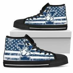 NCAA Yale Bulldogs High Top Shoes