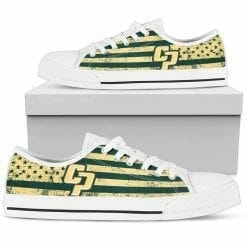NCAA Cal Poly Mustangs Low Top Shoes