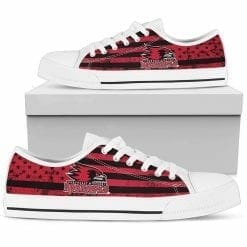 NCAA Southeast Missouri State Redhawks Low Top Shoes