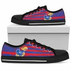 NCAA Kansas Jayhawks Low Top Shoes