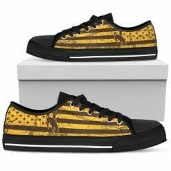 NCAA Wyoming Cowboys Low Top Shoes