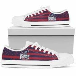 NCAA Robert Morris Colonials Low Top Shoes