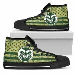 NCAA Colorado State Rams High Top Shoes