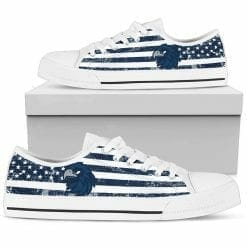NCAA Monmouth Hawks Low Top Shoes