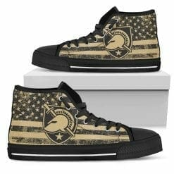 NCAA Army Black Knights High Top Shoes
