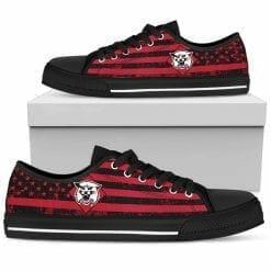 NCAA Davidson Wildcats Low Top Shoes