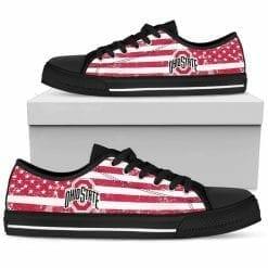 NCAA Ohio State Buckeyes Low Top Shoes