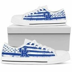 NCAA Kentucky Wildcats Low Top Shoes