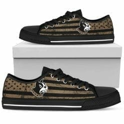 NCAA Wofford Terriers Low Top Shoes
