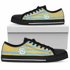 NCAA Southern Jaguars Low Top Shoes