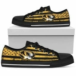 NCAA Missouri Tigers Low Top Shoes