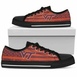 NCAA Virginia Tech Hokies Low Top Shoes