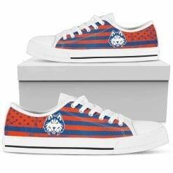 NCAA Houston Baptist Huskies Low Top Shoes