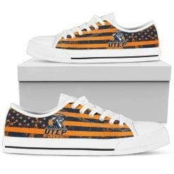 NCAA UTEP Miners Low Top Shoes