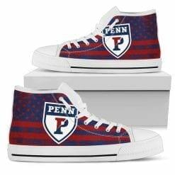 NCAA Pennsylvania Quakers High Top Shoes