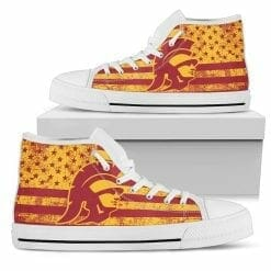 NCAA USC Trojans High Top Shoes
