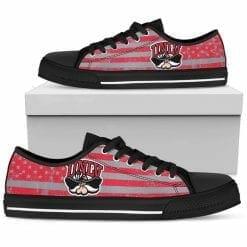 NCAA UNLV Rebels Low Top Shoes