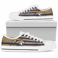 NCAA Montana State Bobcats Low Top Shoes