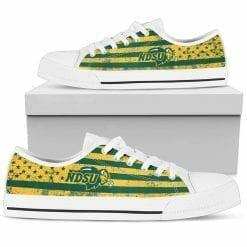 NCAA North Dakota State Bison Low Top Shoes