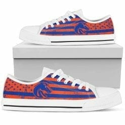 NCAA Boise State Broncos Low Top Shoes