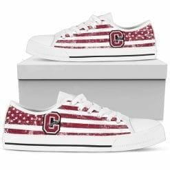 NCAA Colgate Raiders Low Top Shoes