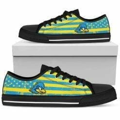 NCAA Delaware Fightin' Blue Hens Low Top Shoes
