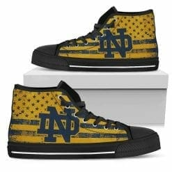 NCAA Notre Dame Fighting Irish High Top Shoes