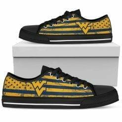 NCAA West Virginia Mountaineers Low Top Shoes