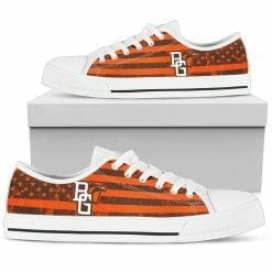 NCAA Bowling Green Falcons Low Top Shoes