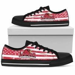NCAA Lamar Cardinals Low Top Shoes