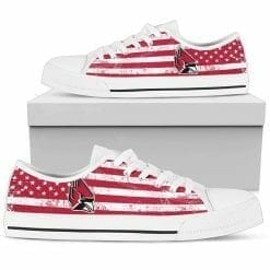 NCAA Ball State Cardinals Low Top Shoes