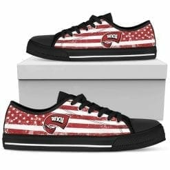 NCAA Western Kentucky Hilltoppers Low Top Shoes