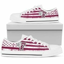 NCAA Fordham Rams Low Top Shoes