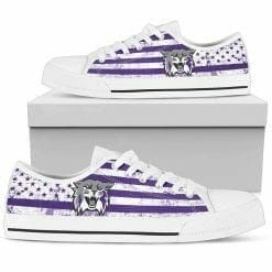 NCAA Weber State Wildcats Low Top Shoes