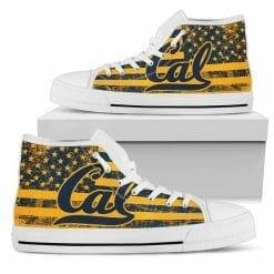 NCAA California Golden Bears High Top Shoes