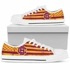 NCAA Bethune-Cookman Wildcats Low Top Shoes