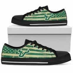 NCAA South Florida Bulls Low Top Shoes