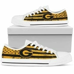 NCAA Grambling State Tigers Low Top Shoes