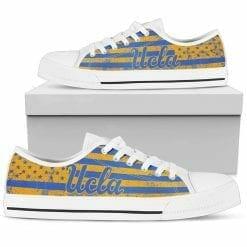 NCAA UCLA Bruins Low Top Shoes