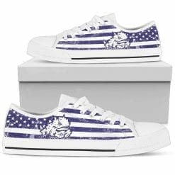 NCAA TCU Horned Frogs Low Top Shoes