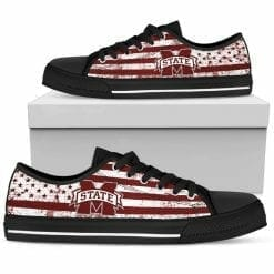 NCAA Mississippi State Bulldogs Low Top Shoes