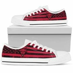 NCAA Arkansas State Red Wolves Low Top Shoes