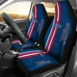 NCAA Tulsa Golden Hurricane Pair of Car Seat Covers