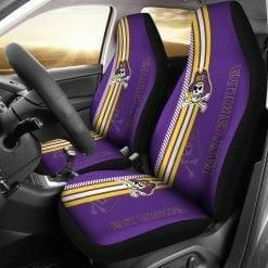 NCAA East Carolina Pirates Pair of Car Seat Covers
